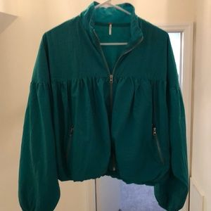 Free People Blouson jacket. Great condition.